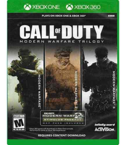 Call Of Duty Modern Warfare Trilogy Xbox One