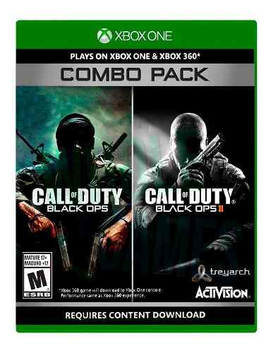 !! Combo Pack Call Of Duty Black Ops Incluye 1 Y 2 En Wg!!!