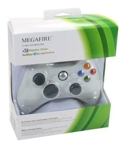 Control Alambrico Xbox 360 Y Pc Usb Blanco Calidad Oferta