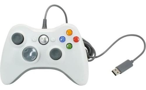Control Para Xbox 360 Alambrico Megafire 2 Metros Vibración