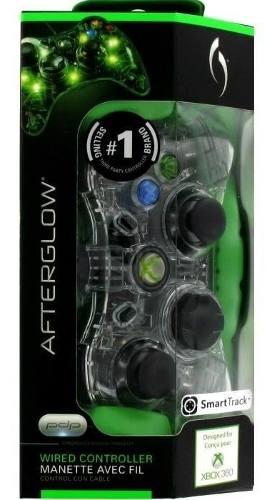 Control Xbox 360 Alambrico Afterglow Azul, Verde, Rojo Nuevo