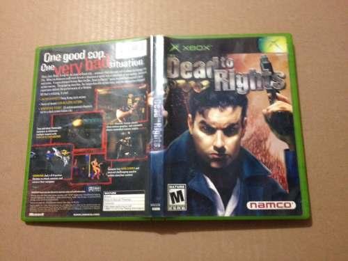 Dead To Rights X Box Clasico Compatible Con 360