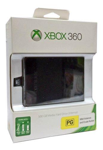 ..:: Disco Duro 500gb::.. Para Xbox 360 En Game Center