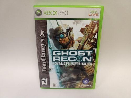 Ghost Recon Advanced Warfighter Xbox 360 Juegazo Anímate!!!