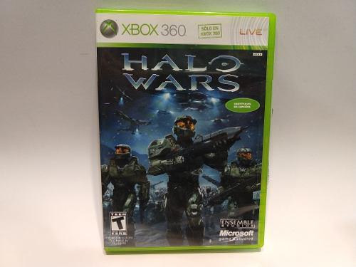 Halo Wars Xbox 360 Juegazo De Colección Impecable Anímate!