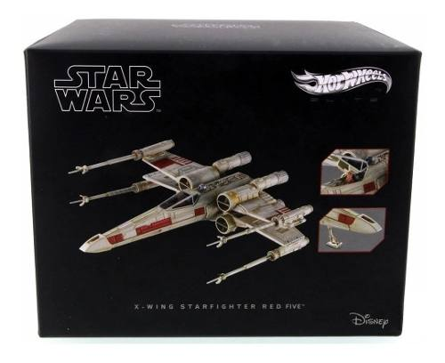 Hot Wheels Star Wars Nave X- Wing Metal Mattel