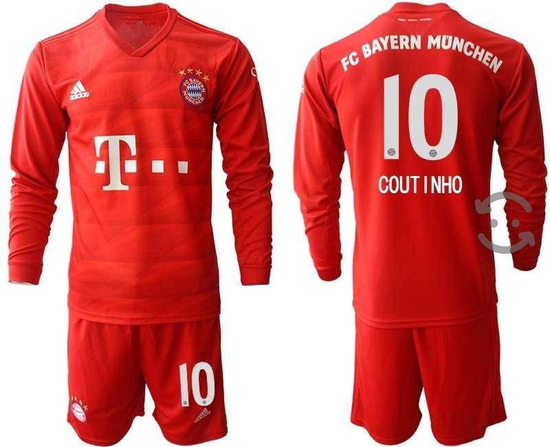 Jersey Bayern Munchen  Manga Larga Coutinho 10
