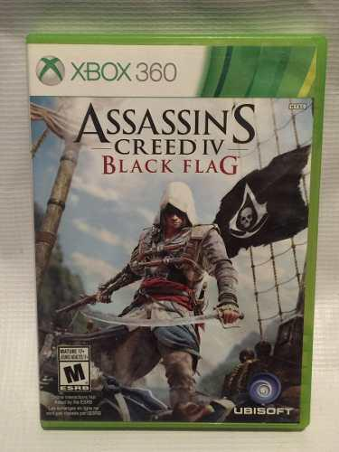 Juego Assassin's Creed 4 Black Flag Xbox 360
