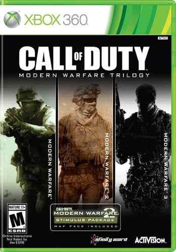 Juego Call Of Duty Modern Warfare Trilogy Xbox 360 Nuevo
