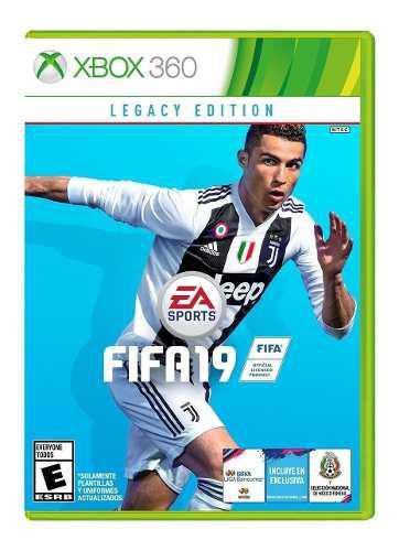 Juego Fifa 19 Xbox 360 Nuevo Original