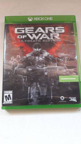 Juego Gears Of War Utimate Edition (semi Nuevo)