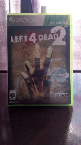 Juego Lead 4 Dead Nuevo Para Xbox 360