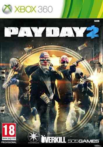 Juego Pay Day 2 Xbox 360 Nuevo Original