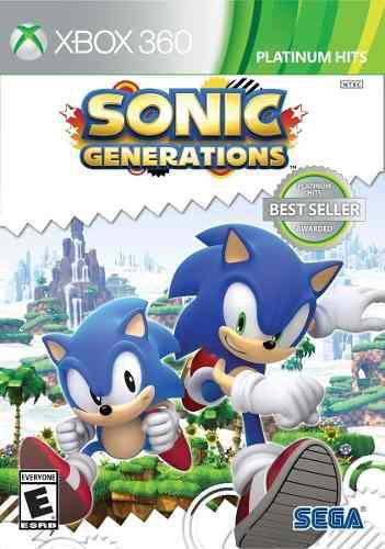Juego Sonic Generations Xbox 360 Nuevo Original