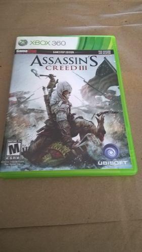 Juego Xbox 360 Assassins Creed 3