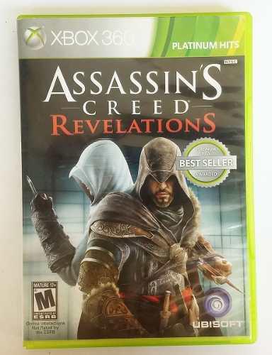 Juego Xbox 360 Assassins Creed Revelations Original Usado