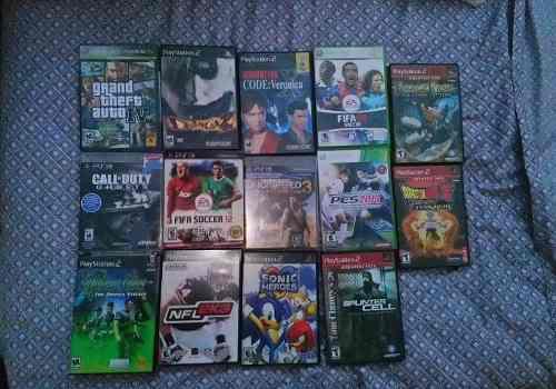 Juegos De Ps2, Ps3 Y Xbox 360