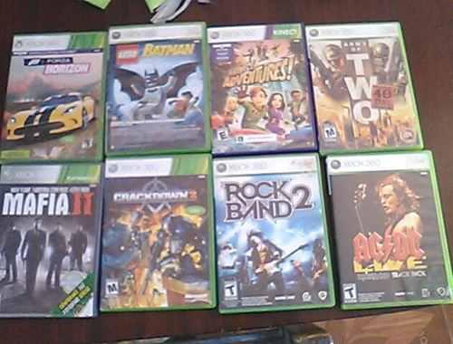 Juegos De Xbox 360 8 Juegos, Usados En Buen Estado