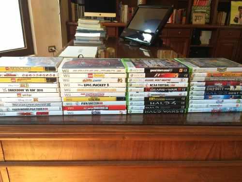 Juegos De Xbox 360 Y Wii