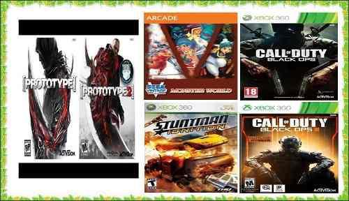 Juegos Para Xbox 360 Carreras, Aventura, Retro Etc.