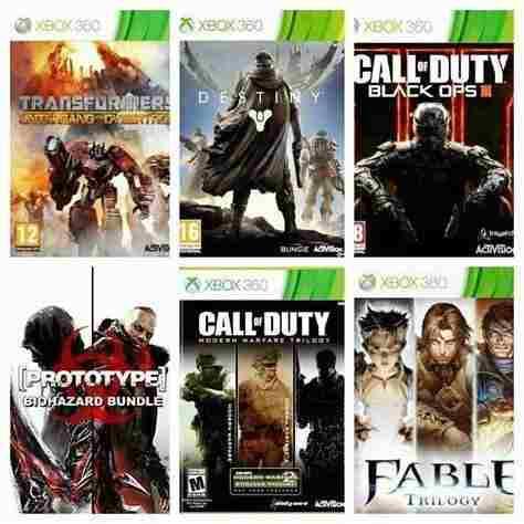Juegos Xbox 360 / One - Licencias Permanente -oferta!!!
