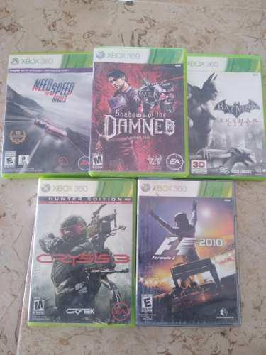 Juegos Xbox 360 Originales Pack