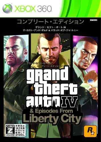 Juegos,grand Theft Auto Iv La Edición Completa Importar..