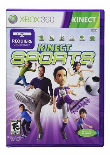 Kinect Sports Para Xbox 360 Nuevo Envio Gratis