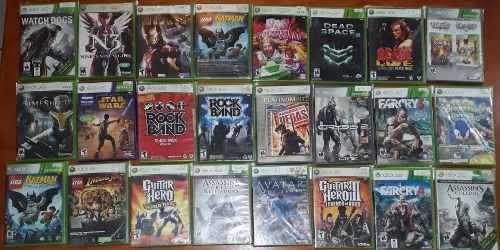Lote De 24 Juegos Para Xbox 360