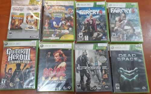 Lote De 8 Juegos Para Xbox 360