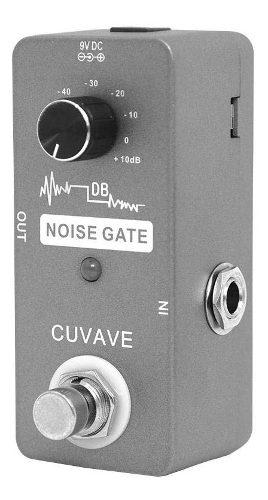 Mini Pedal Cuvave Noise Gate Alta Calidad A Un Super Precio