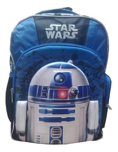 Mochila Backpack Star Wars R2d2 Arturito 3d Ruz