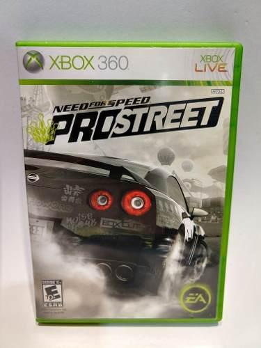 Need For Speed Pro Street Xbox 360 Juegazo De Colección!!!