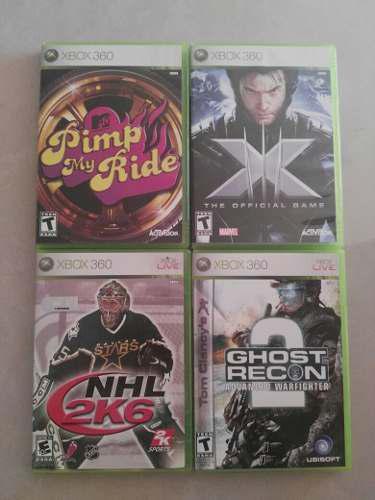 Pack De 4 Juegos Originales Para Xbox 360 +envío Gratis!