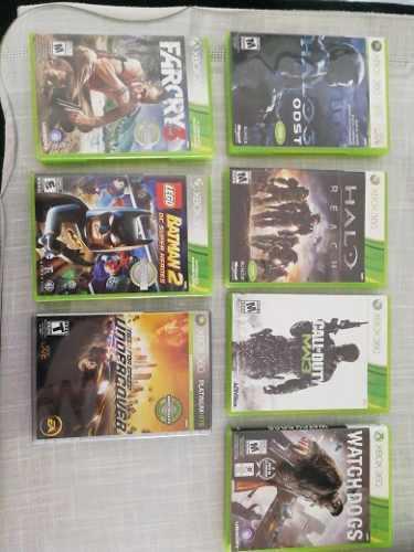 Paquete De Juegos De Xbox 360