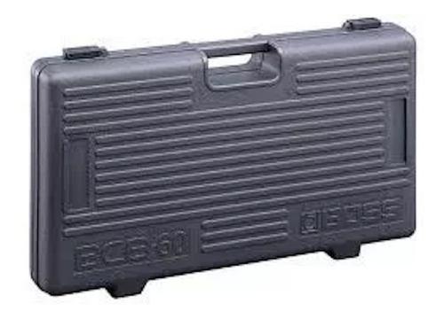 Pedal Board Boss Bcb-60 Para 6 Pedales Y Adaptador Ac !!