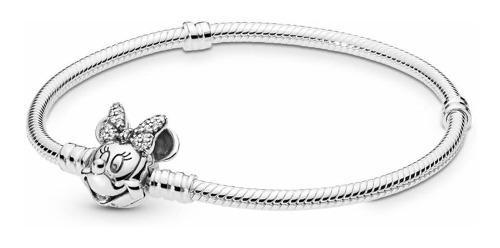 Pulsera Original Pandora Disney Minnie Mouse Plata Esterlina