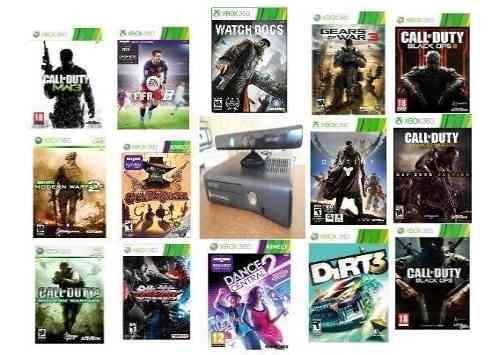 Pura Consola Xbox 360 / Lleno De Juegos Digitales Originales