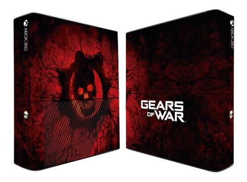 Skin Gears Of War Para Xbox 360 E + 2 Mandos