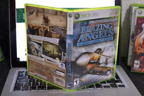 Video Juego Blazing Angels Squadrons Of Wwii Xbox 360