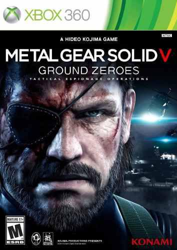 Video Juego De Xbox 360 Metal Gear Solid V