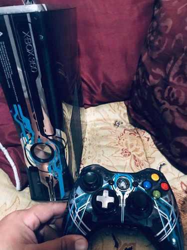 Xbox 360 Edición Halo 4 Usado+ Control Halo +rgh 1tb