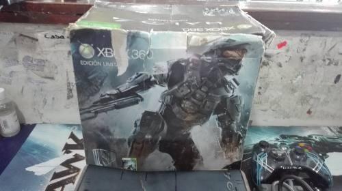 Xbox 360 Edicion Halo 4 Completa En Caja Sin Disco Duro,chec