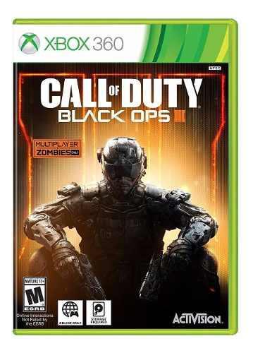 Xbox 360 Juego Call Of Duty Black Ops 3 Nuevo + Envío