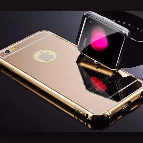 Bumper Metal Case iPhone 6 6s Y Plus Premium Espejo Mirror