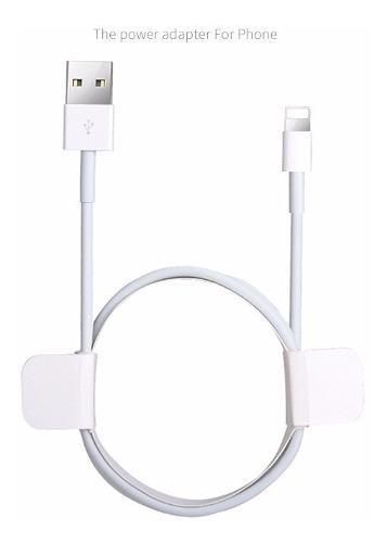 Cable Cargador Lightning 2 Metros iPhone 5/6/7/x iPad 200cm