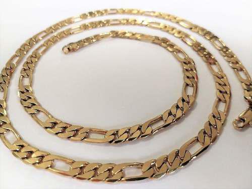 Cadena Cartier Oro Laminado 18k-75cm Largo-estuche Gratis