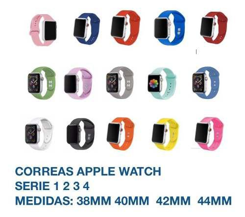 Correa Extensible Para Apple Watch 38mm Serie 1 2 3 4