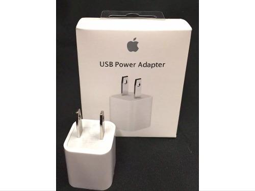 Cubo Cargador Usb 5 W Apple Original iPhone 5/6/7/8/x iPod