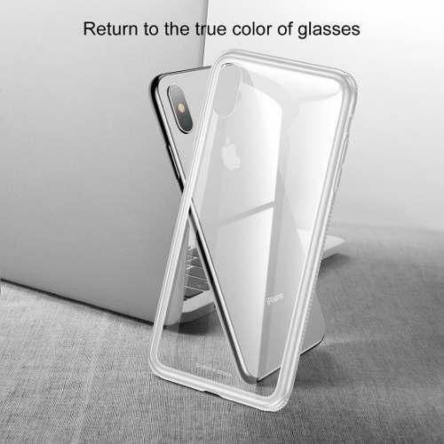 Funda Baseus Tpu Cristal iPhone Xs Max/ Xr/ Xs/ X Y Mica